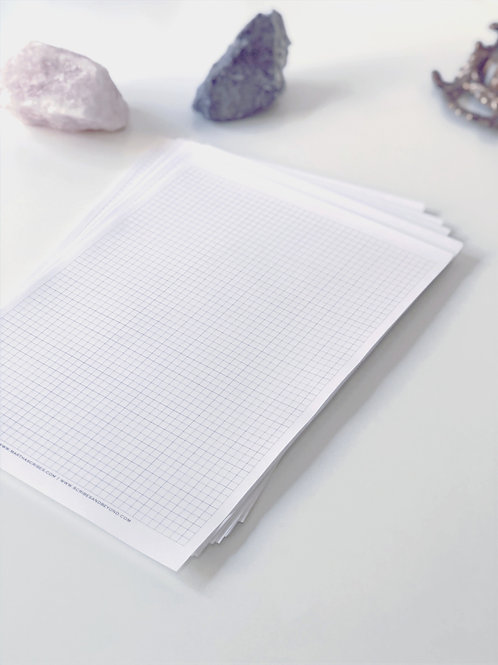 Martha's Atelier Gridline sheets (Loose Leaf)