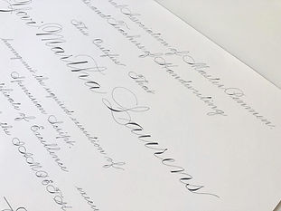 Spencerian Online Class, Calligraphy Course in Sydney