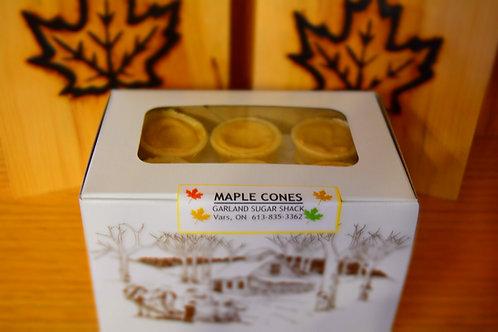 Maple Cones - Box of 6