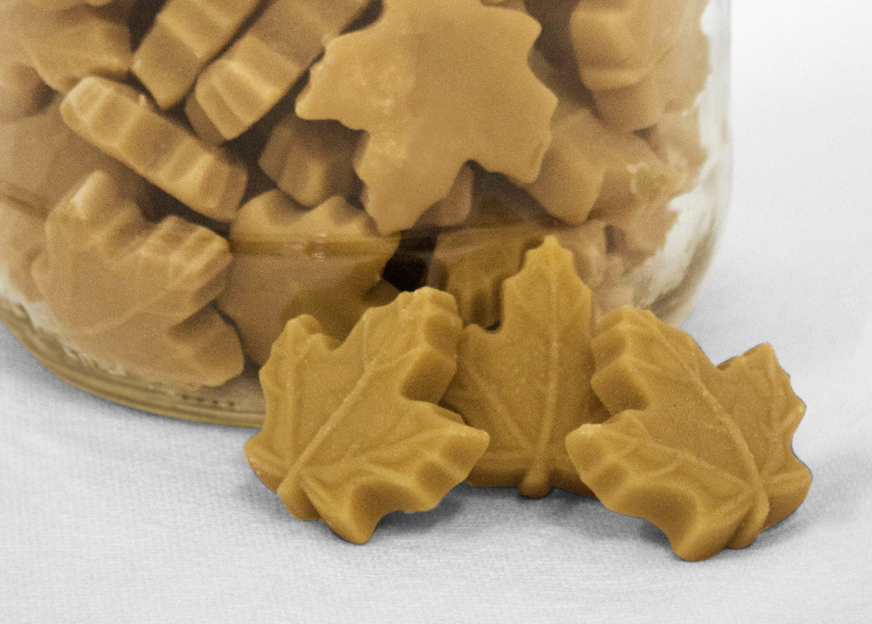 Maple candies...