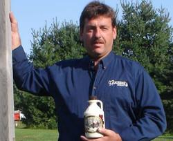 Ivan Garland, proud owner