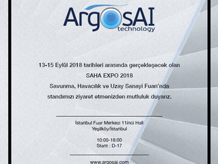 ArgosAI in SAHA EXPO Exhibition,