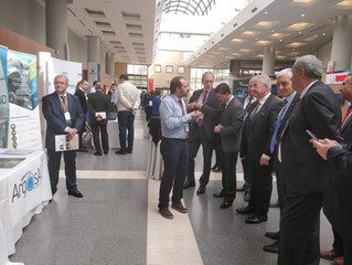 ArgosAI booth is visited by the executive managers of TÜSİAD and ODTÜ