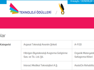 ArgosAI is a finalist in Turkey's most prestigious award