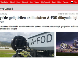 ArgosAI in Star newspaper / ArgosAI bugün Star gazetesinde