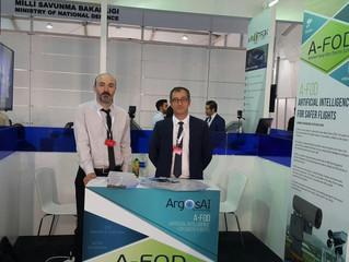 ArgosAI in Antalya Eurasia Airshow Exhibition
