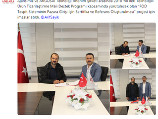 ArgosAI awarded by Development Agency to support A-FOD for certification  / ArgosAI ile Ankara Kalkı