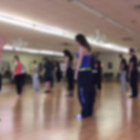 Sunday class! Warming up our bodies and our minds !