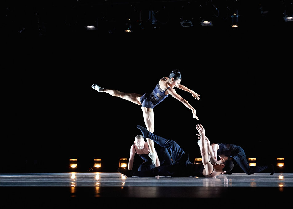 """Cora Cliburn in """"Yours is Mine"""" with Post:Ballet"""