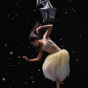 Cora Cliburn in costume for Post:Ballet. Photo by Natalia Perez.