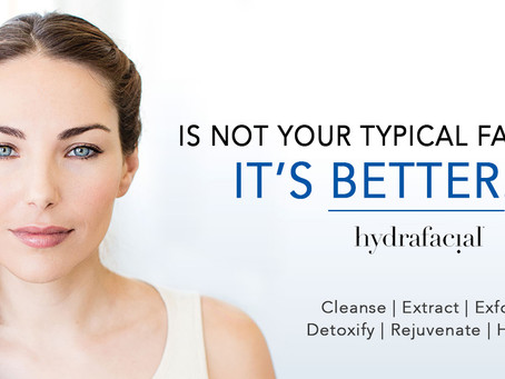 Hydrafacial! Not your typical facial! IT'S BETTER!!!!