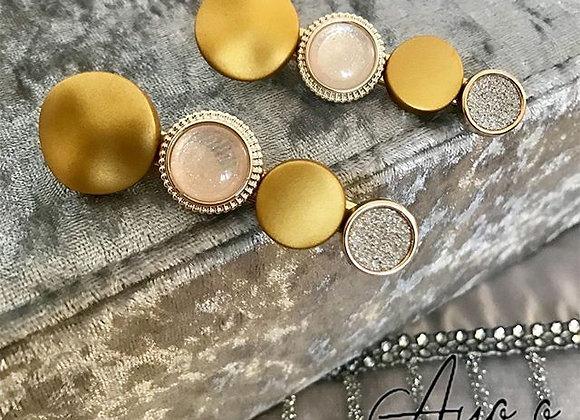 Gold Hairpins