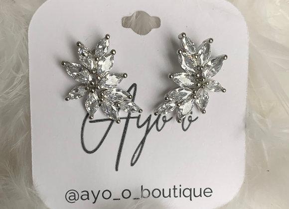 Curved Stud Earrings
