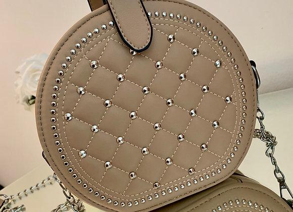 Beige Circle Bag