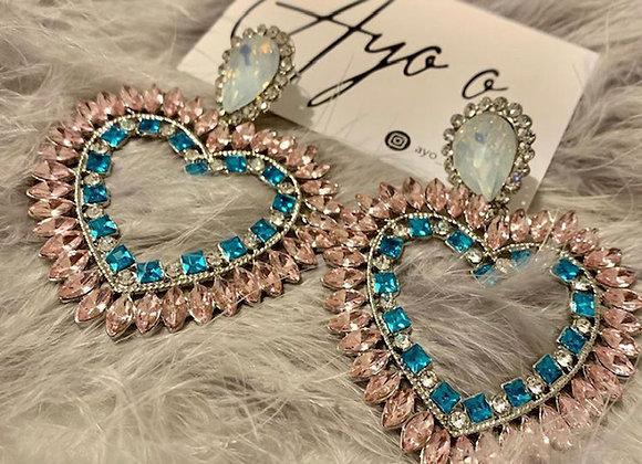 Mini Heart Shaped Earrings