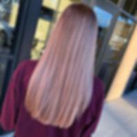 Subtle pink 😍#behindthechair #btc #btco