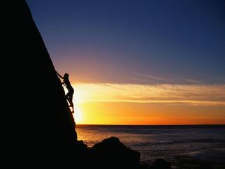 A vida é uma montanha a ser conquistada