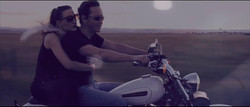 OS on motorcycle