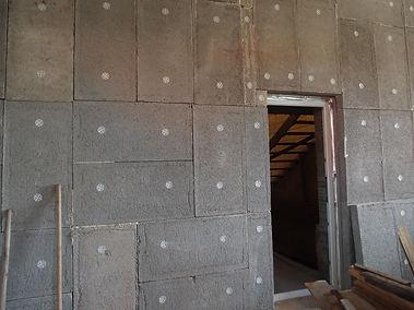 утепление стен неотапливаемого гаража полистиролбетонными плитами Бережливый