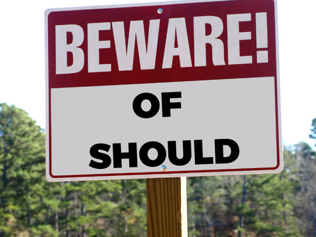 Beware of Should