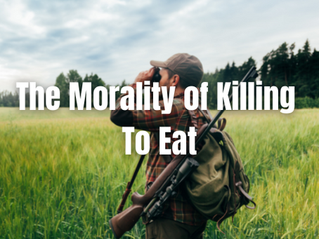 Is It Right to Kill to Eat?