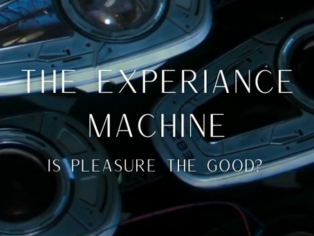 The Experience Machine: Pleasure Is Not the Good