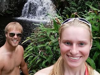Couples getaway to Hawaii with Hidden Waterfalls