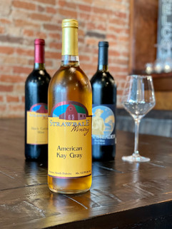 We feature Strawbale Winery wines out of Renner, South Dakota. Stop in to ask what our current selection in!