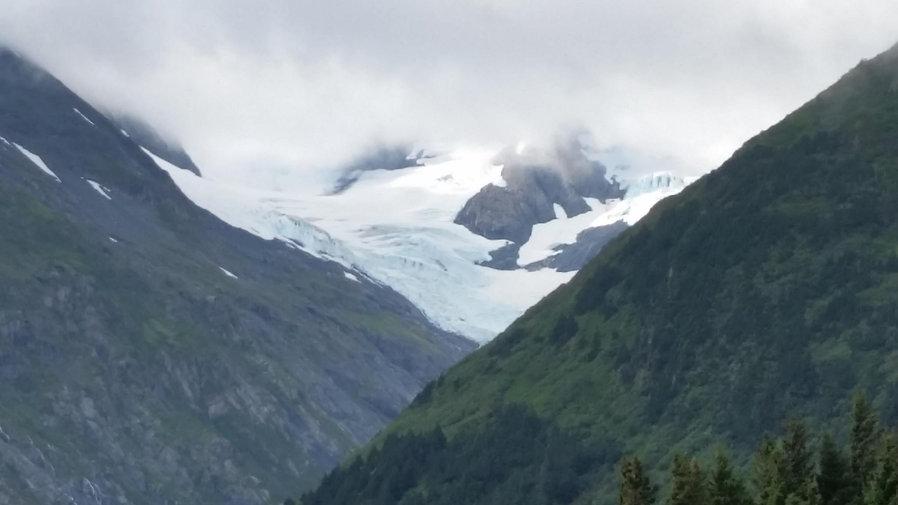 Mountain view in Alaska