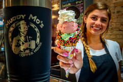 Your tastebuds will thank you when you build your own Deluxe Muddy Mo Cone.