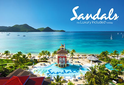 Sandals vacation trips