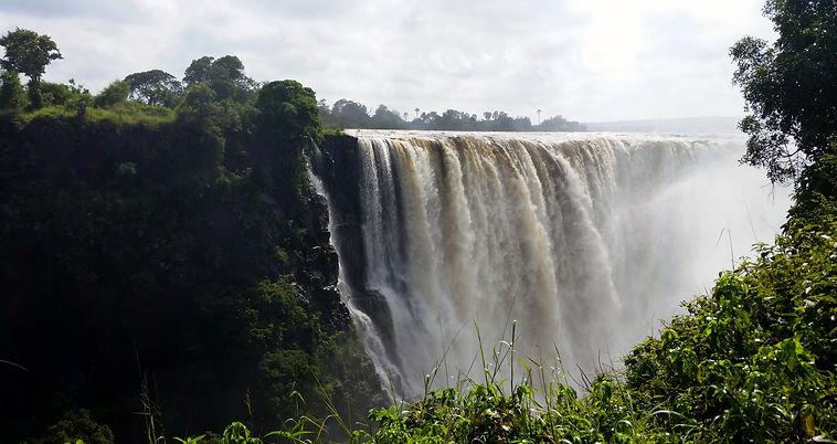 Waterfalls in Zimbabwe