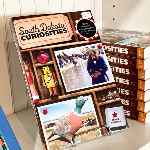 This is the zaniest travel book you'll find on South Dakota! Learn about the grasshopper crosses, stone Johnnies, bullhead and lutefisk feeds, a cowboy spa and hundreds of other oddities and interesting places. A travel book that's fun to read!