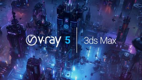 """Vizualizavimas naujuoju """"V-Ray 5 for 3ds Max"""". Kas pasikeitė?"""