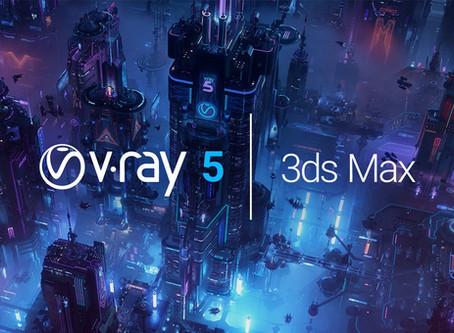 """Webinar'as: Vizualizavimas naujuoju """"V-Ray 5 for 3ds Max"""". Kas pasikeitė?"""