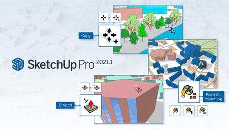 SketchUp Pro versija 2021.1. Kokie pasikeitimai Jūsų laukia?
