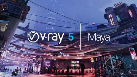 """Ką įdomaus rasite naujausioje """"V-Ray 5 for Maya"""" versijoje?"""