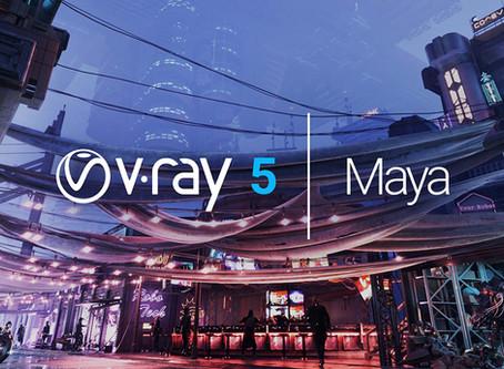 """Webinar'as: Ką įdomaus rasite naujausioje """"V-Ray 5 for Maya"""" versijoje?"""