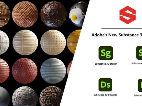 Adobe's New Substance 3D Suite 2021