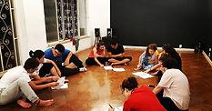 Aulas de Teatro no Espaço Leão . . . #te