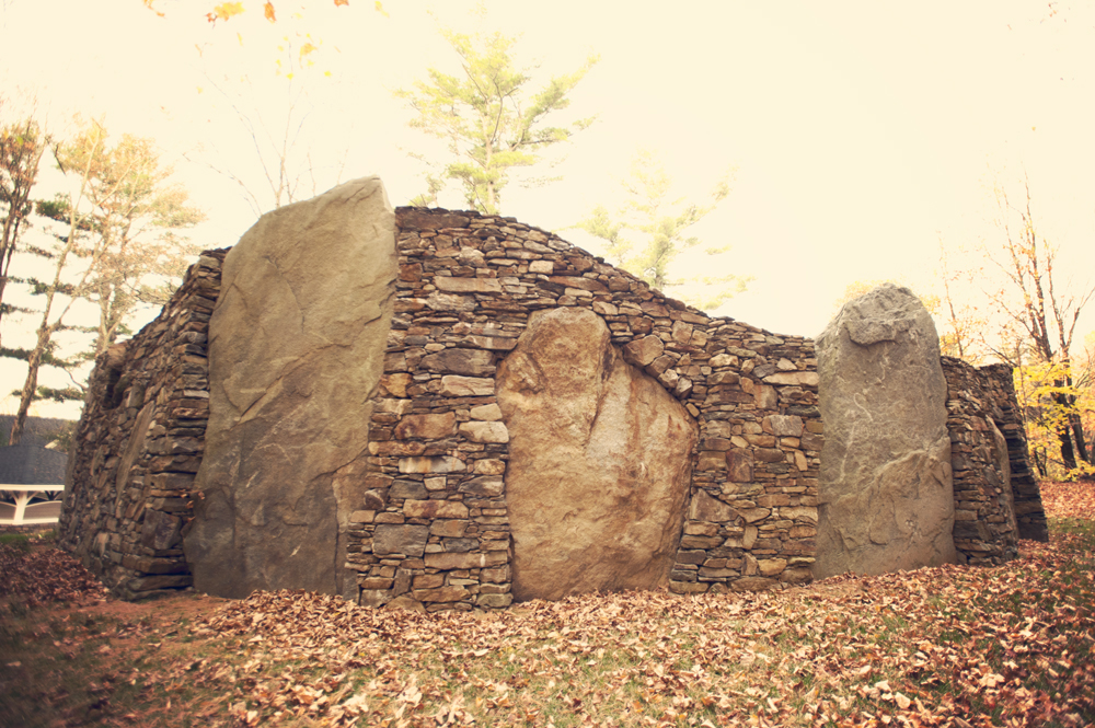 Stone Wall Sculpture by CountryScape