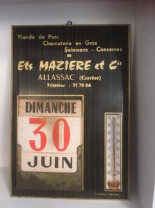 thermomètre_calendrier_Ets_Mazière_ALLAS