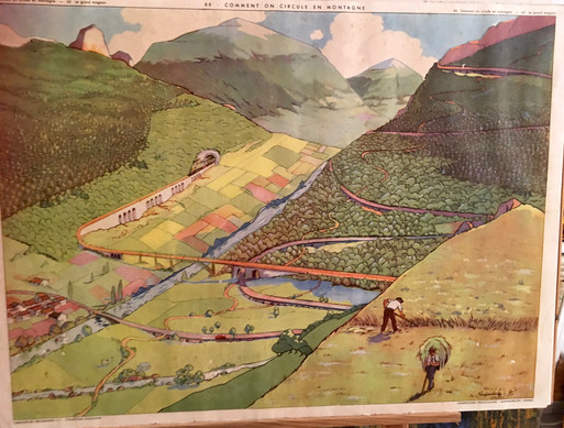 1953- 66 COMMENT ON CIRCULE EN MONTAGNE.