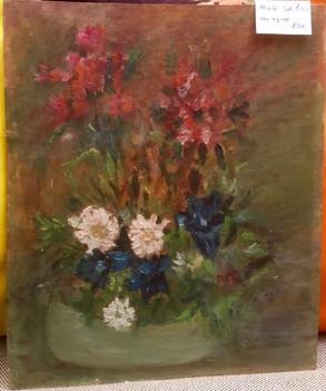 huile sur bois, fleurs.jpg