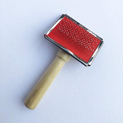 Macrame brush