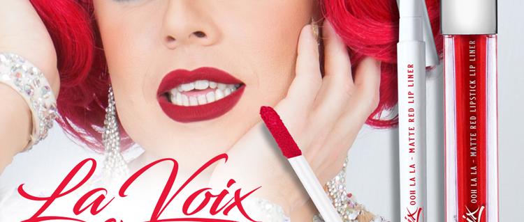Ohh La La Matte Red Lipstick & Lip Liner