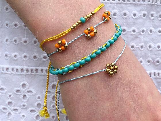 Stacking bracelets (gold)