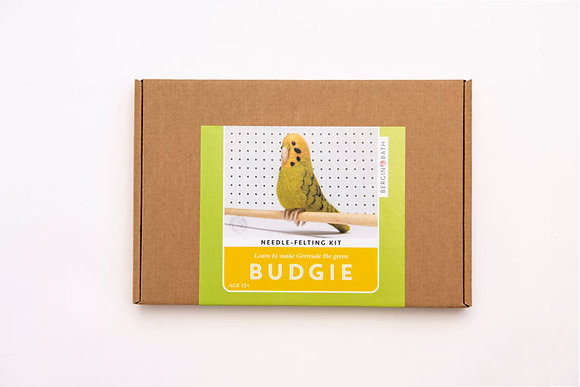 Gertrude the Green Budgie