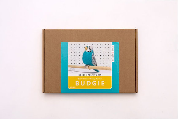Buddy the Blue Budgie