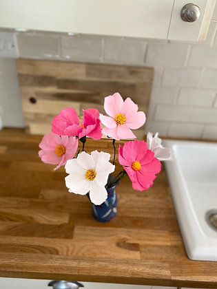 Paper Flower Kit - Cosmos